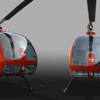 Acrylglasverarbeitung Hubschrauberscheiben