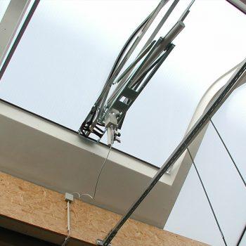 Acrylux Lichtbandklappe RWA