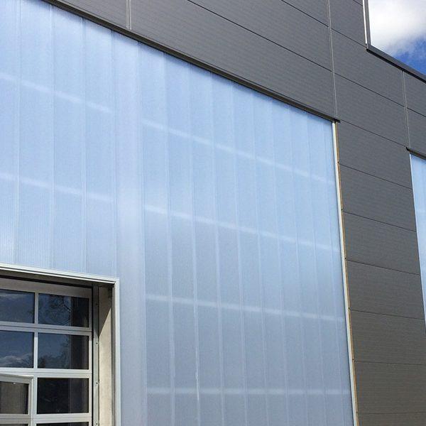Fassadenverglasung ICE Montagehalle Mainz