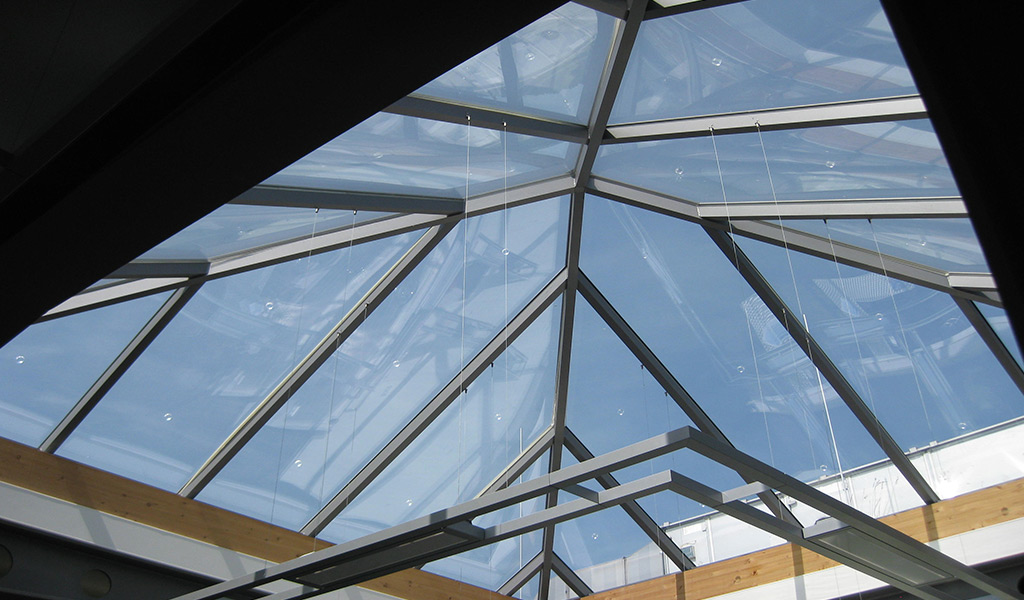 Glasdächer