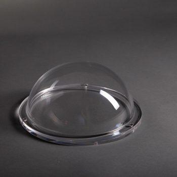 Runde Lichtkuppel transparent