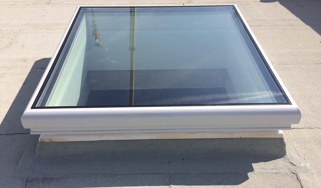 Flachdachfenster VSG Verglasung