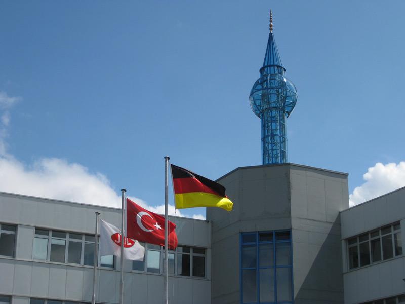 BÖRNER Minarette neues Ulmer Wahrzeichen