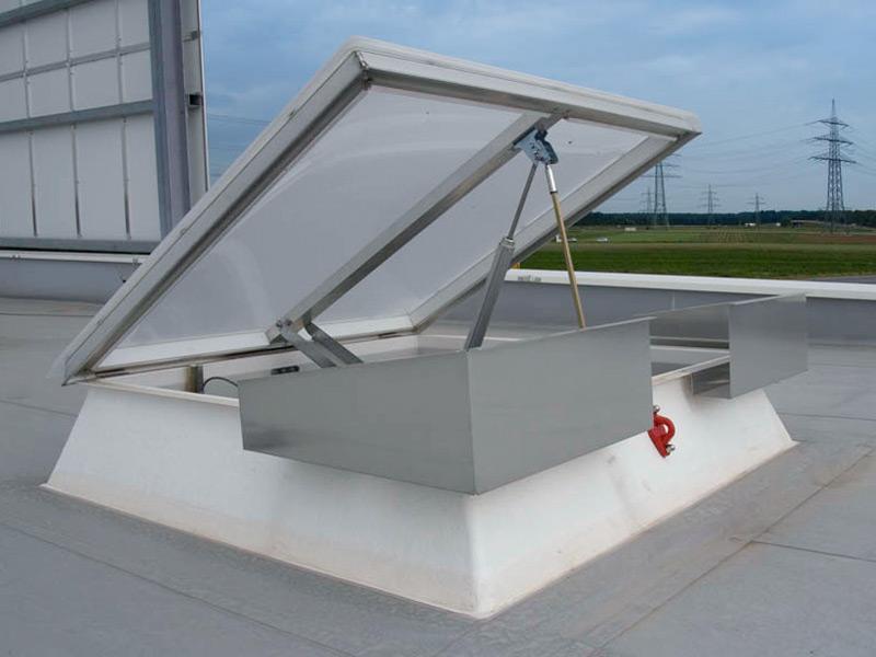 Lichtkuppel Sicherung