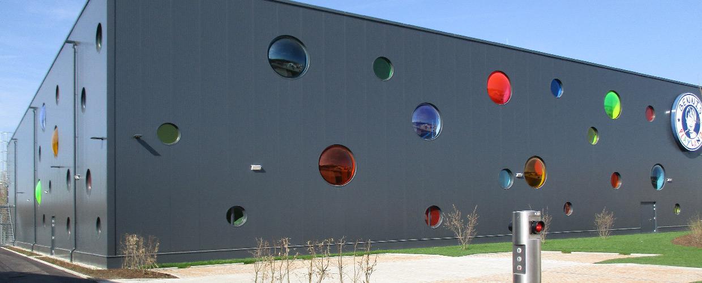 Fassaden-Lichtkuppeln
