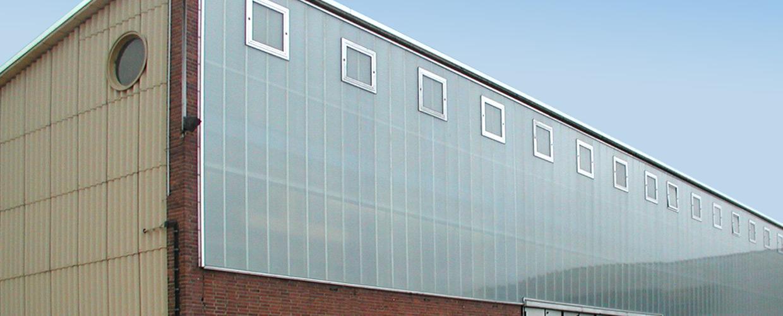 Sanierung Tageslichtband bei KHS in Bad Kreuznach
