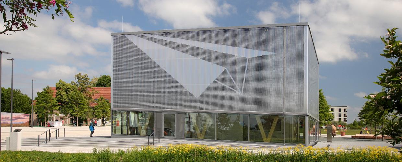 Fassaden im Hubland in Würzburg