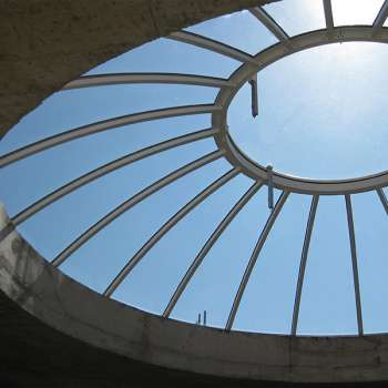 Glaskuppel Moschee Hanau